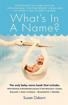 Book What's in a Name? by Susan Osborn