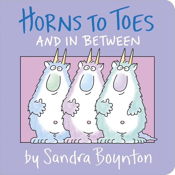 Horns To Toes by Sandra Boynton