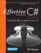 Effective C#  (covers C# 6.0), (includes Content Update Program): 50 Specific Ways To Improve Your…