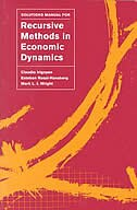 Solutions Manual for <i>Recursive Methods in Economic Dynamics</i>