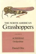 The North American Grasshoppers, Volume II: Acrididae: Oedipodinae