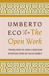 Book The Open Work by Umberto Eco