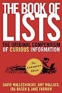 The Book of Lists, The Canadian Edition: The Original Compendium Of Curious Information