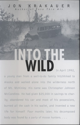 Book Into the Wild by Jon Krakauer