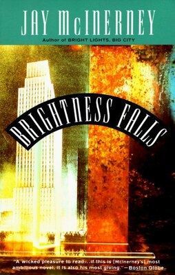 Book Brightness Falls by Jay McInerney