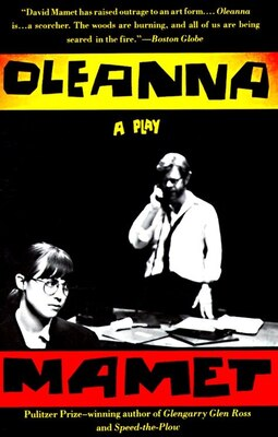 Book Oleanna: A Play by David Mamet