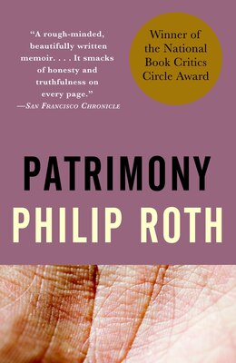 Book Patrimony: A True Story by Philip Roth