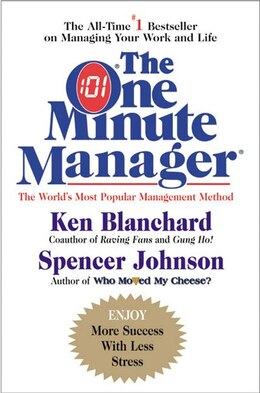 Book One Minute Manager by Ken Blanchard