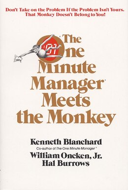 Book One Minute Manager Meets The Monkey by Ken Blanchard