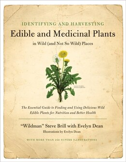 Book Identifying And Harvesting Edible And Medicinal Plants by Steve Brill