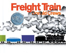 Book Freight Train by Donald Crews