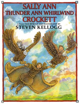 Book Sally Ann Thunder Ann Whirlwind Crockett by Steven Kellogg