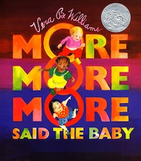 """more More More,"" Said The Baby Board Book"