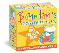 Boynton's Greatest Hits The Big Yellow Box: The Going-to-Bed Book; Horns to Toes; Opposites; But…