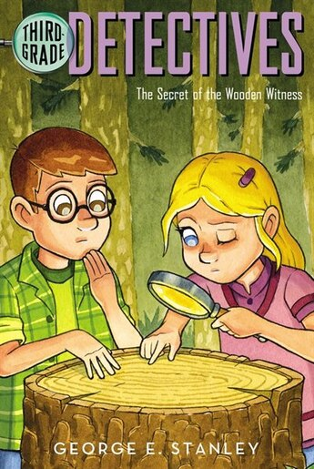 The Secret of the Wooden Witness by George E. Stanley