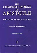 Complete Works of Aristotle, Volume 1: The Revised Oxford Translation