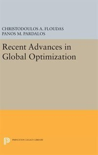 Recent Advances in Global Optimization