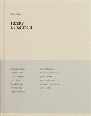 Faculty Department by Justin Chung