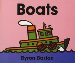 Book Boats Board Book by Byron Barton
