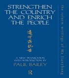 Strengthen the Country and Enrich the People: The Reform Writings of Ma Jianzhong