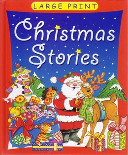 Book Large Print Christmas Stories by BROWN WATSON