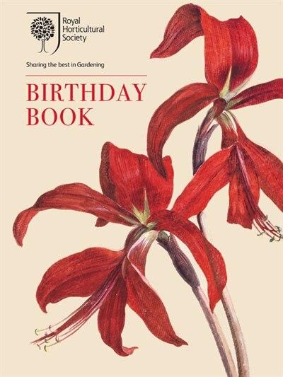 The Rhs Birthday Book by Brent Elliott