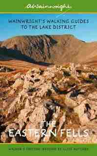 Wainwright's Illustrated Walking Guide To The Lake District Book 1: The Eastern Fells by Alfred Wainwright