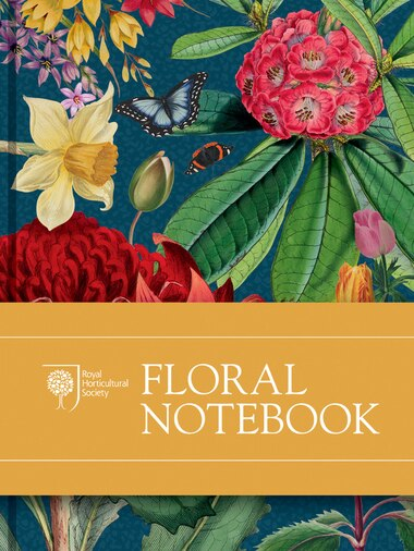 Rhs Floral Notebook by The Royal Horticultural Society