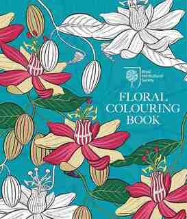 Rhs Floral Colouring Book by Rhs