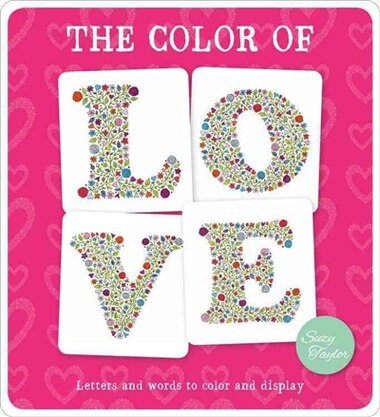 The Color Of Love: Letters And Words To Color And Display, Book by ...