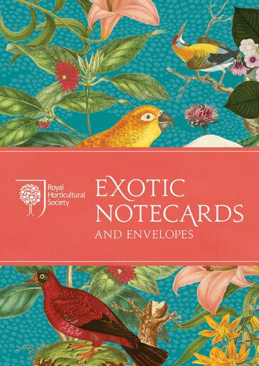 Rhs Exotic Notecards by Royal Horticultural Society