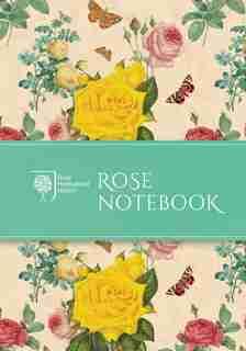 Rhs Rose Notebook by Rhs