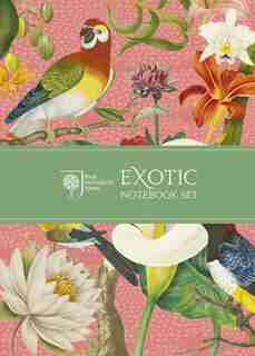 Royal Horticultural Society Exotic Notebook Set by Royal Horticultural Society