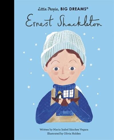 Ernest Shackleton by Maria Isabel Sanchez Vegara