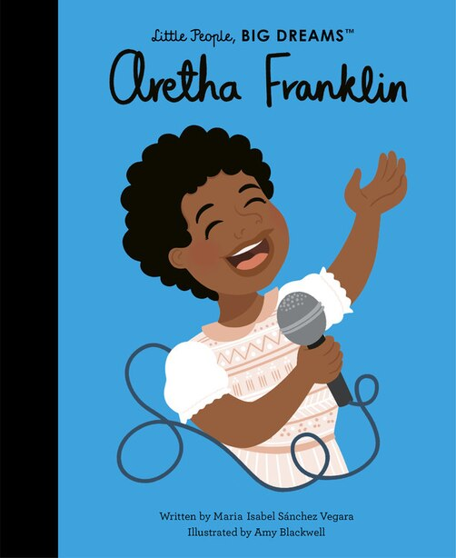 Aretha Franklin by Maria Isabel Sanchez Vegara