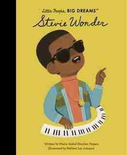 Stevie Wonder by Maria Isabel Sanchez Vegara