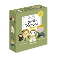 Little People, Big Dreams: Earth Heroes: 3 Books From The Best-selling Series! Jane Goodall - Greta…