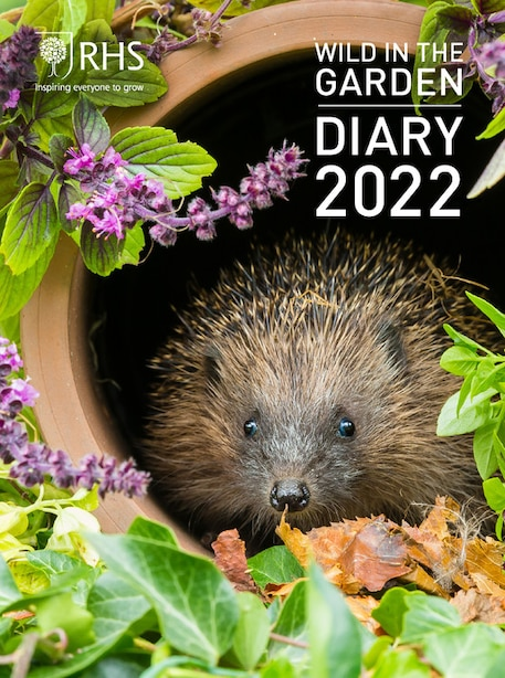 Royal Horticultural Society Wild In The Garden Diary 2022 by Royal Horticultural Society