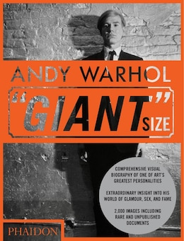 "Book Andy Warhol ""giant"" Size, Large Format by Dave Editors Of Phaidon Press"