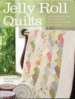 Book Jelly Roll Quilts by Pam Lintott