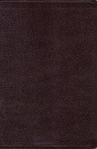 Nkjv, Reference Bible, Giant Print, Bonded Leather, Burgundy, Red Letter Edition: Bonded Leather…