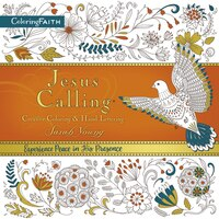 Book Jesus Calling Adult Coloring Book:  Creative Coloring And   Hand Lettering by Sarah Young
