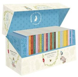 Book Original Peter Rabbit Books 1-23 Presentation Box Anniversary Col by Beatrix Potter