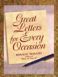 Great Letters For Every Occasion