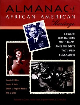 Book Almanac African American Heritage: Chronicle by Johnnie H. Miles