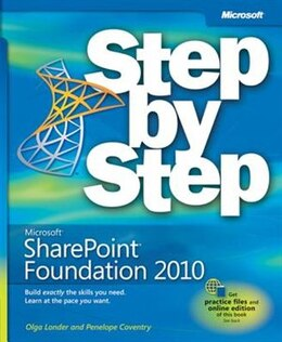 Book Microsoft Sharepoint Foundation 2010 Step By Step by Olga M. Londer
