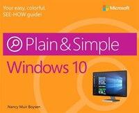 Book Windows 10 Plain & Simple by Nancy Muir Boysen