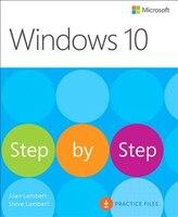 Book Windows 10 Step By Step by Joan Lambert