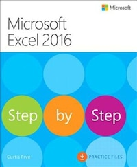 Microsoft Excel 2016 Step By Step