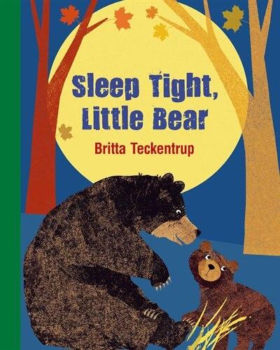Sleep Tight Little Bear by Britta Teckentrup